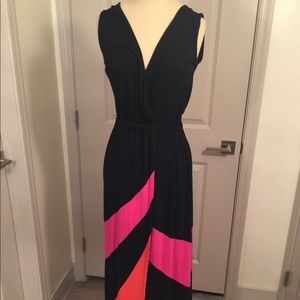 Boston Proper XS Sleeveless Maxi Dress.